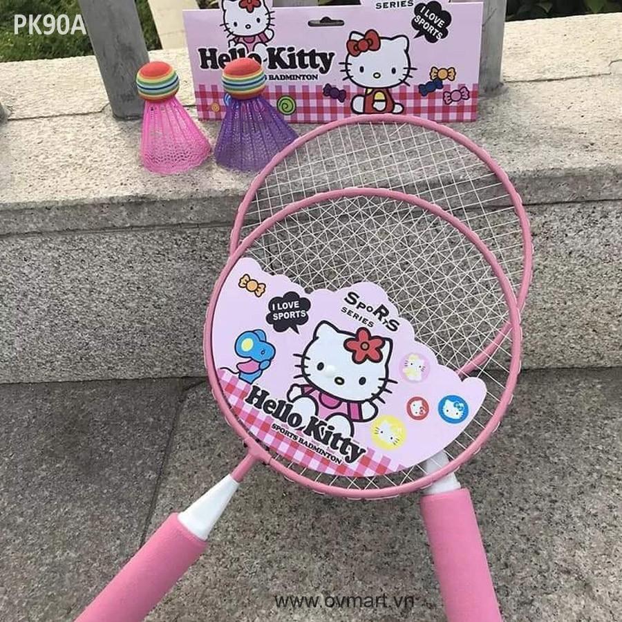 Vợt cầu lông cho bé ngày hè năng động – Bộ đồ chơi quần vợt trẻ em