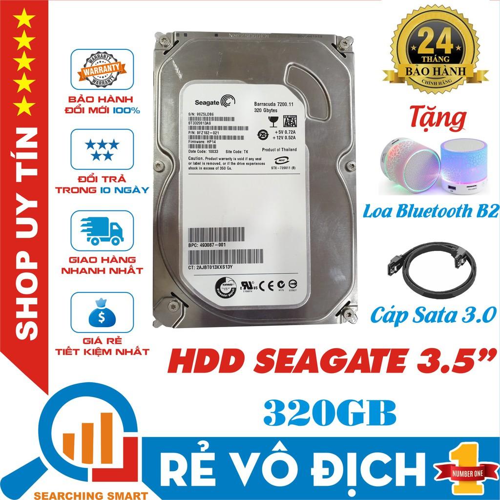 """Ổ cứng HDD Seagate 320GB 3.5"""" - Tặng Loa Bluetooth B2 và Cáp Sata 3.0 - Bảo hành chính hãng 24 tháng - 22956723 , 7507838246 , 322_7507838246 , 369000 , O-cung-HDD-Seagate-320GB-3.5-Tang-Loa-Bluetooth-B2-va-Cap-Sata-3.0-Bao-hanh-chinh-hang-24-thang-322_7507838246 , shopee.vn , Ổ cứng HDD Seagate 320GB 3.5"""" - Tặng Loa Bluetooth B2 và Cáp Sata 3.0 - Bảo"""