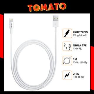 Dây Sạc Iphone - Cáp Sạc Iphone IBesky Bs-i6 Cho Iphone , Ipad , Airpods , Lightining Siêu Gọn - Phụ Kiện Tomato