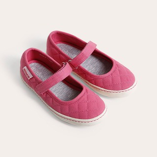 Giày búp bê bé gái D&A BG1606 hồng đậm
