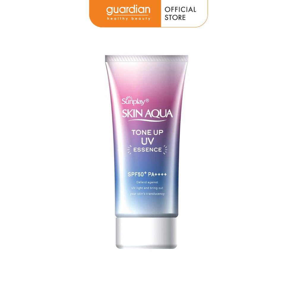 Tinh chất chống nắng Sunplay Skin Aqua Tone Up UV Essence SPF50+ 50g