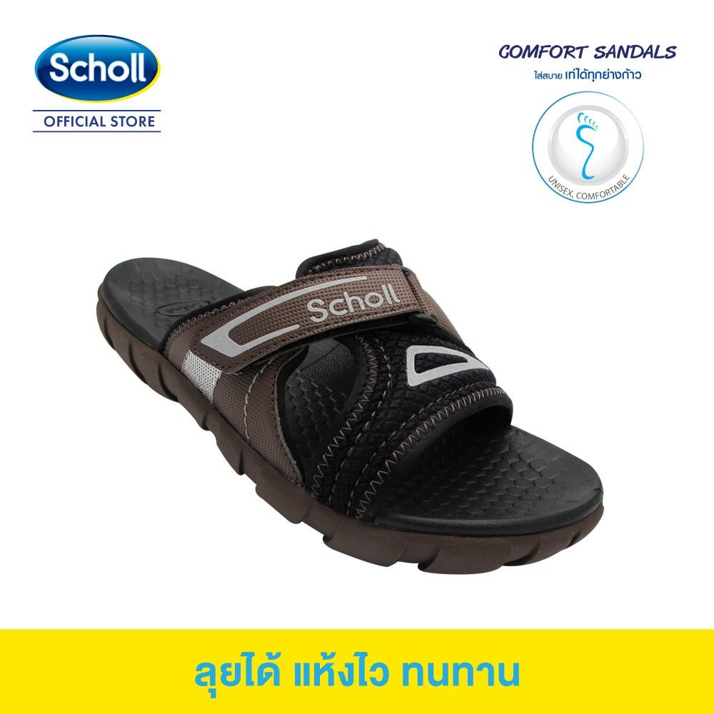 Scholl รองเท้าสกอลล์-บาสติ Basti รองเท้าแตะสวม Unisex รองเท้าสุขภาพ Comfort Sandal เบา ทนทาน