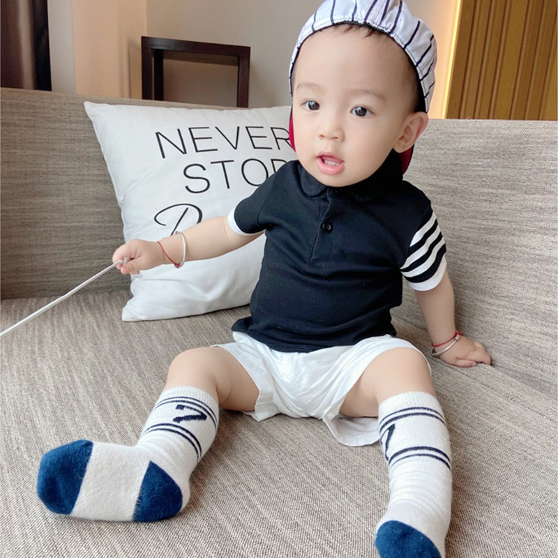 Áo Thun Cotton Polo Hè Cho Bé Trai Và Bé Gái Từ 8Kg Đến 28kg NaNa Store