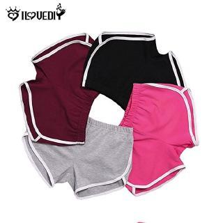 [DS] [Gói 1 Pc] [Nhãn hiệu ILOVEDIY] [Quần short thể dục mùa hè] [Tính năng mềm & thoáng khí] [Chất liệu polyester] [Thích hợp cho phụ nữ tập luyện, yoga, chạy bộ] thumbnail