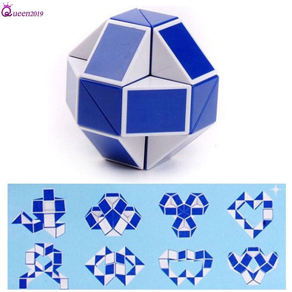 Snake Speed Cubes Twist Puzzle Đồ chơi cho Trẻ em Túi bên Chất độn Đảng ủng hộ Nữ hoàng