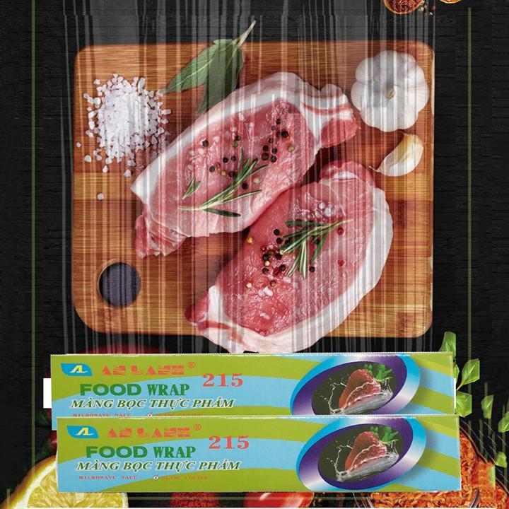 Màng bọc thực phẩm PE PVC AN LÀNH dẻo dai co dãn tốt kích thước 30cm x 200m dùng được trong lò vi sóng