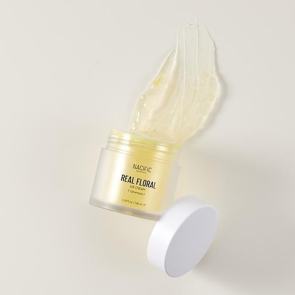 Kem dưỡng trắng da Nacific Real Floral Air Cream 100ml (Calendula)   Shopee  Việt Nam