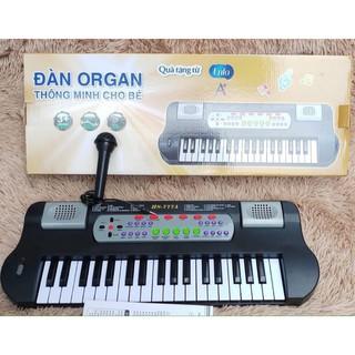 [siêu rẻ] Đàn Organ thông minh cho bé có micro, ghi âm dùng pin