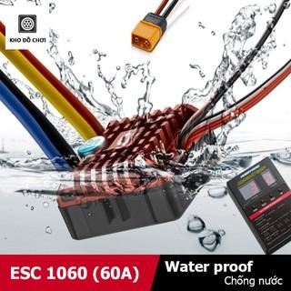 Mạch điều tốc ESC 1060 (60A) Brushed – Chống nước