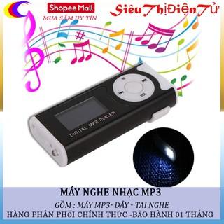 MÁY NGHE NHẠC MP3 CÓ MÀN HÌNH VÀ ĐÈN PIN Tăng Tai Nghe thumbnail
