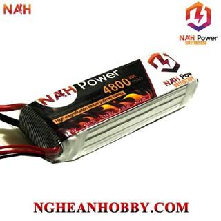 Pin Lipo 3s 4800mAh 35C cho xe RC hsp 94123 hoặc struck các loại