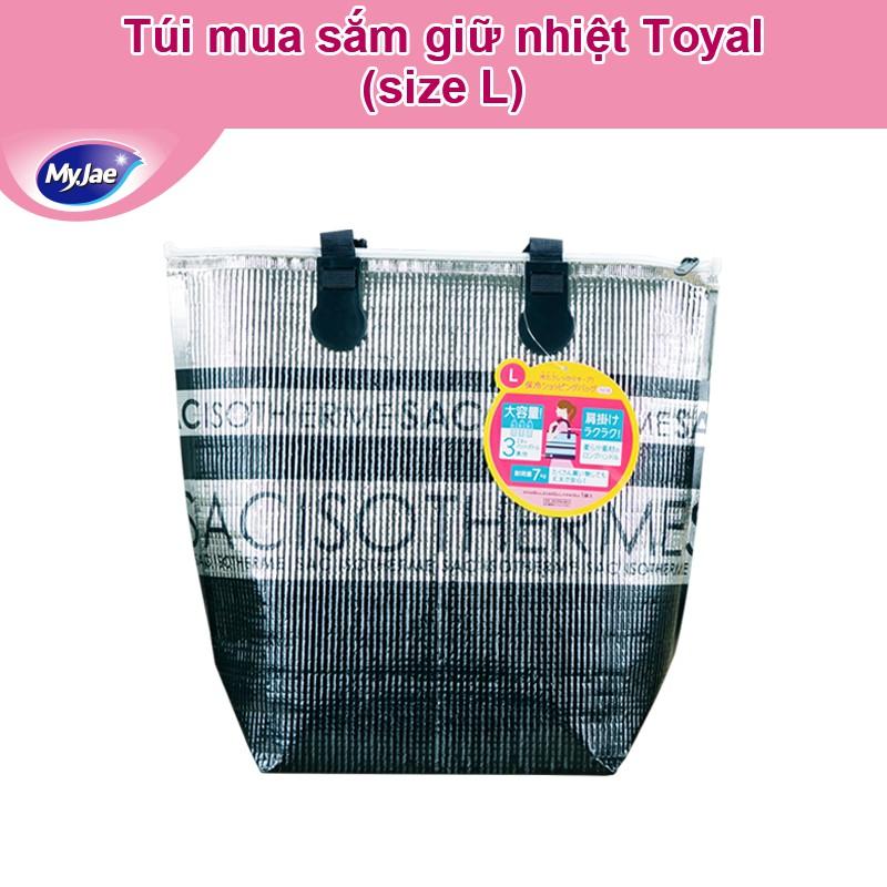 [MyJae x Toyal] Túi giữ nhiệt nóng lạnh Nhật Bản đựng hộp cơm văn phòng thực phẩm có quai xách tiện lợi