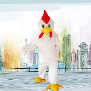 12 con giáp con gà mascot trang phục quần áo