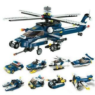 [Nhập TOYMAR giảm 10%]( RẺ VÔ ĐỊCH) BỘ LEGO ENLIGHTEN 1801(8 TRONG 1) HÌNH MÁY BAY
