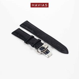Dây đồng hồ HAVIAS Black Lux9 Silver