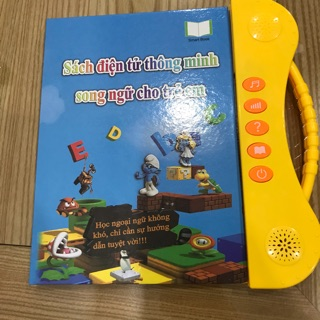 Sách điện tử thông minh song ngữ cho trẻ em