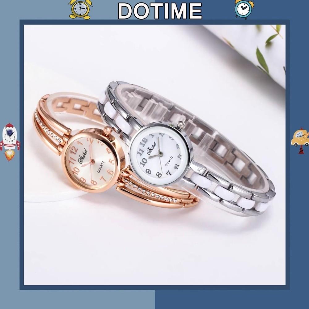 Đồng hồ nữ Dotime thời trang SHSHD dây kim loại cực đẹp ZO52