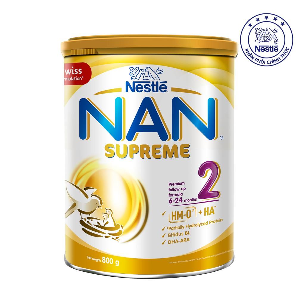 Sữa Bột Nestle Nan Supreme 2 800g