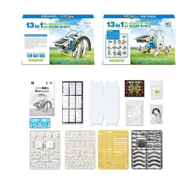 Bộ lắp ráp Robot năng lượng mặt trời 13 in 1 (Educational Solar Robot Kit)