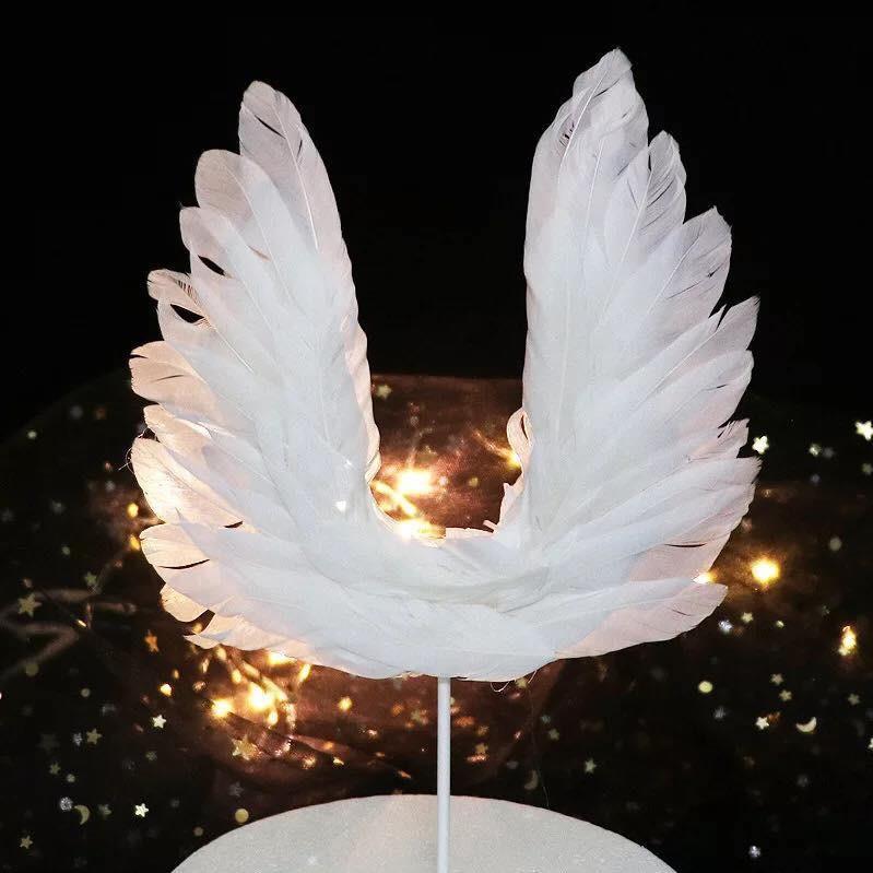 05 Cánh thiên thần - phụ kiện bánh kem