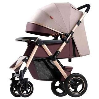 Xe đẩy đi bộ 2 chiều 3 tư thế cho bé KIDVIET-PRO BELECOO 511 bánh hơi, có giảm sóc