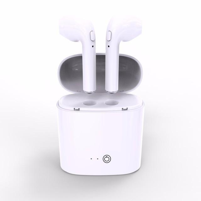 Tai nghe bluetooth i7S mini 2 tai có đế sạc