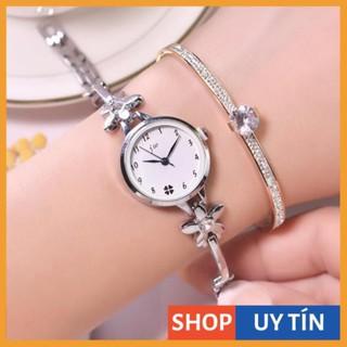 [Hàng Cao Cấp] - Đồng hồ nữ Jw chính hãng 6 màu dây lắc hình hoa cực đẹp