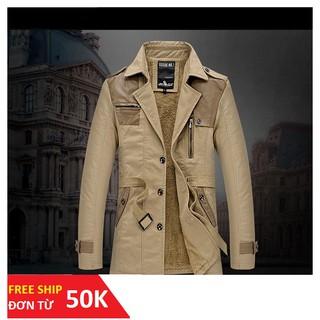 Xả kho áo măng tô nam [FREE SHIP 150K] áo khoác nam
