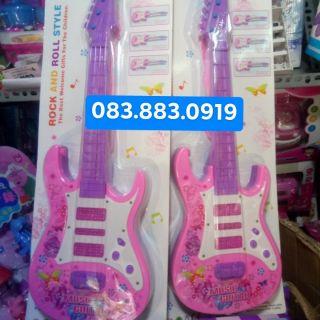 Cây đàn nhựa Hello Kitty cho bé 🎸🎶🎼