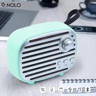 Loa Bluetooth V4.2 Model CRX64 Kiểu Dáng Đài Phát Thanh Cổ Điển Hỗ Trợ Chơi Nhạc Qua Thẻ Nhớ USB Công Suất 5W