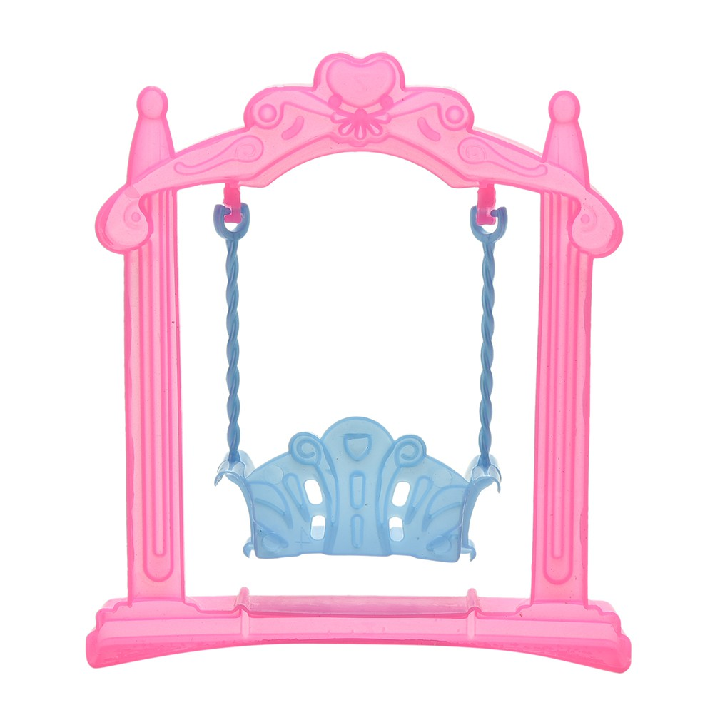 adore Swing For Dolls Swing Plastic Doll Accessories Kid Toy Doll's Backyard craving
