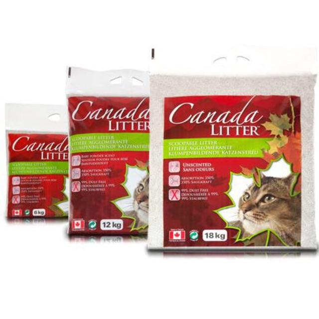 Cát vệ sinh cho mèo Canada Litter 12kg