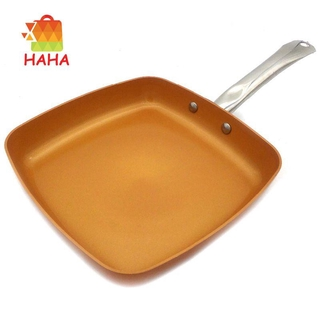 Non-Stick Copper Frying Pan With Ceramic Coating And Induction#HAVN