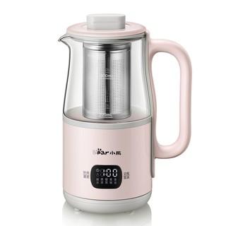 ▤■Bear health pot mini bình thủy tinh đa năng dung tích nhỏ tự động đun sôi pha trà ấm thể hình
