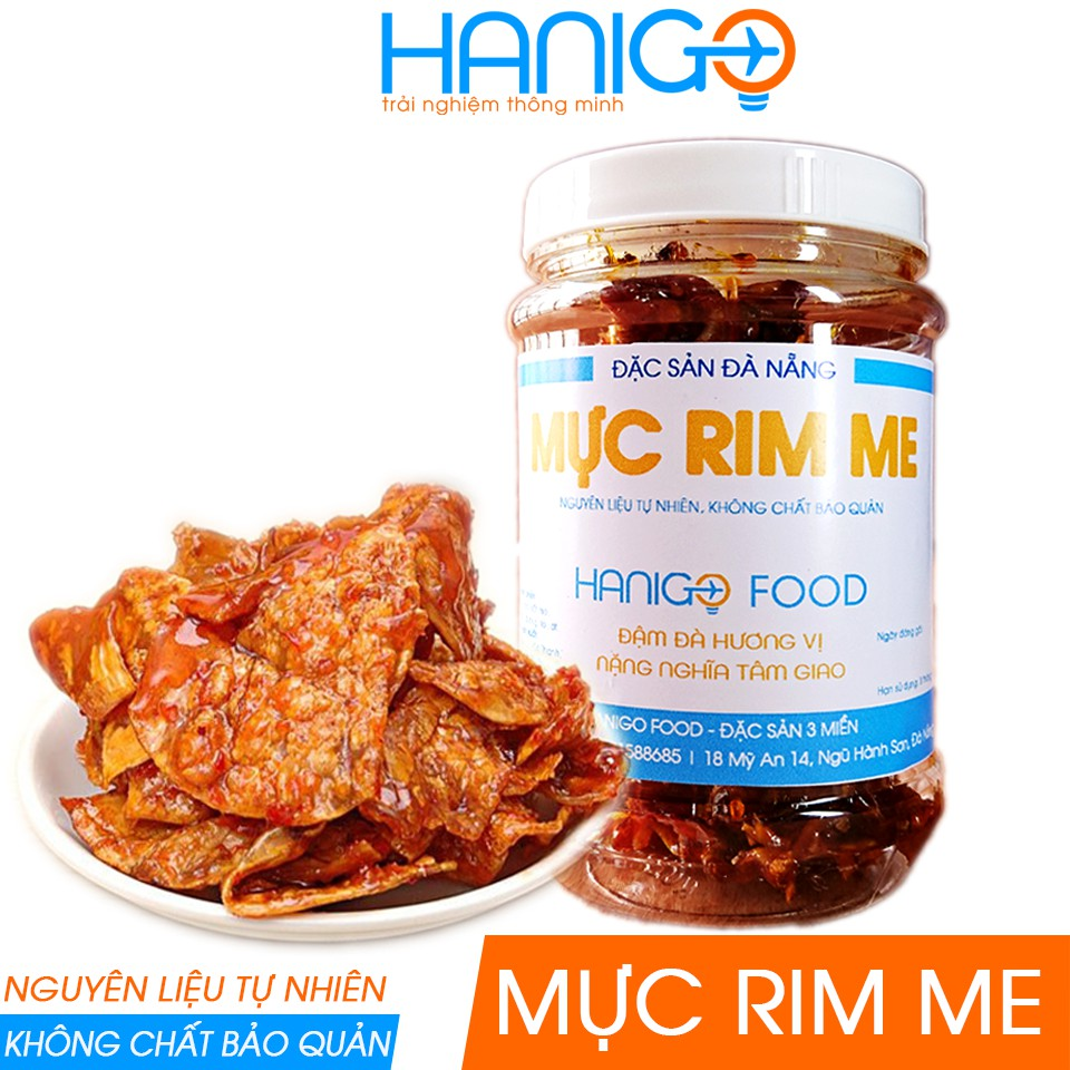 Mực Rim Me Đà Nẵng Ngon- Mực nhiều, mềm ngọt- Ít sốt- Hanigo Food- Đặc sản Đà Nẵng NGON
