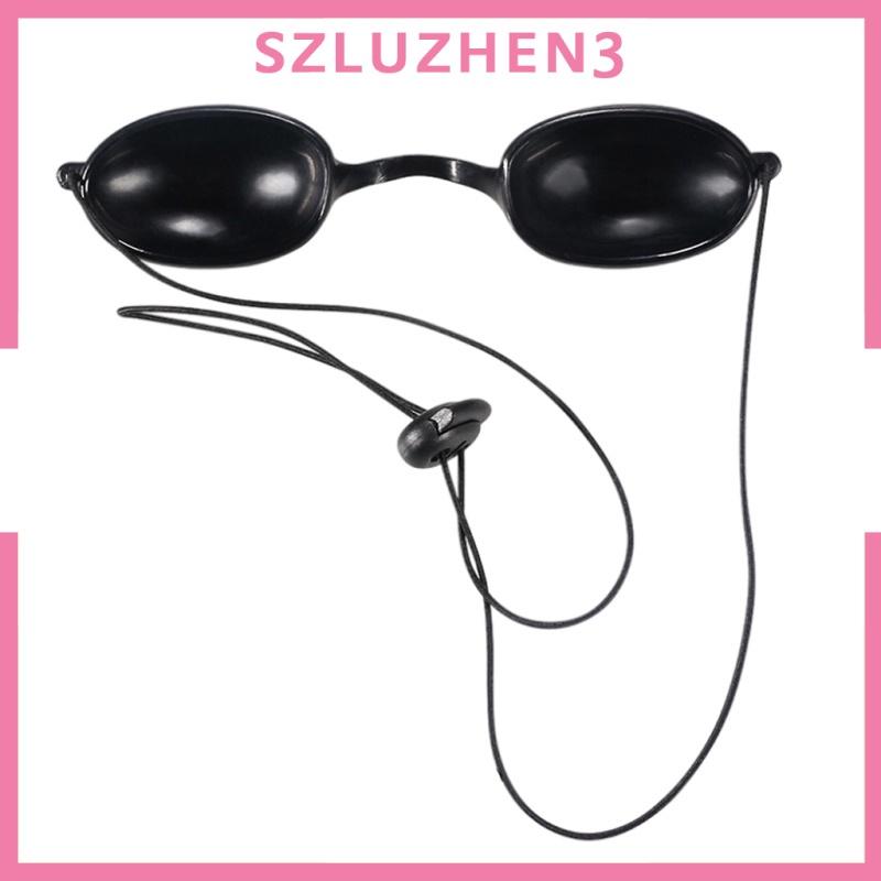 [SmartHome ] Flex Soft Tanning Bed Goggles Eye Protection UV Glasses Eyeshields TPU