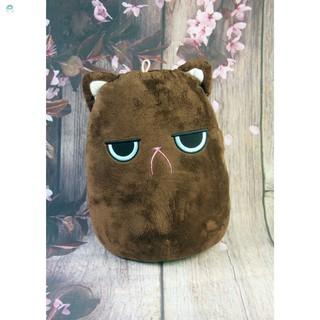 [Safe]Gấu bông Oenpe nâu mèo mếu cute, chất liệu bông cao cấp
