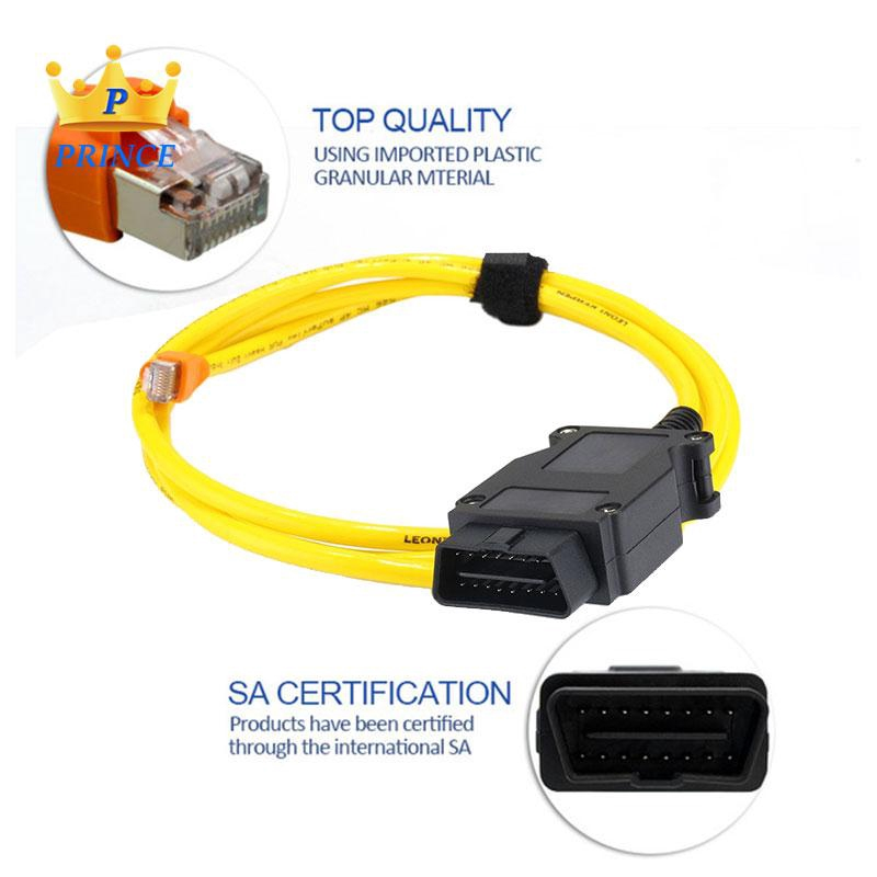 Ready Stock BMW Diagnostic Tool E-SYS ICOM Enet Cable Auto Professional