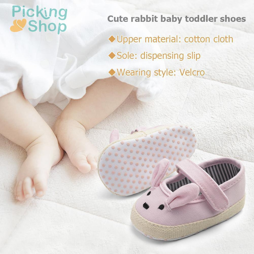 Baby Prewalker Easter Rabbit Casual Shoes Fashion Newborn First Walkers