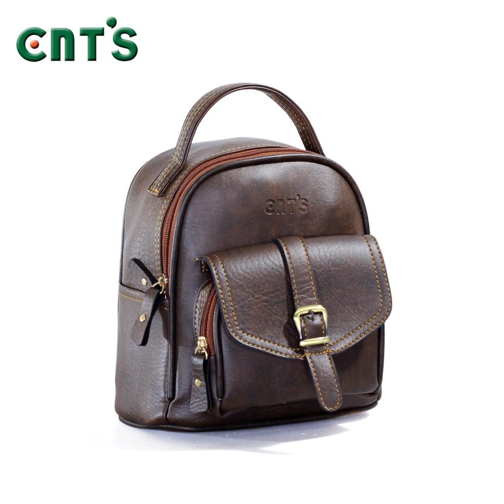 Balo thời trang CNT BL33 nâu cá tính