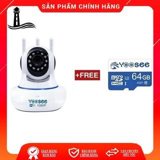 [Mã ELORDER5 giảm 10K đơn 20K] Camera Wifi Yoosee 3 Râu 2.0M FullHD 1080P 11 đèn hồng ngoại đàm thoại 2 chiều