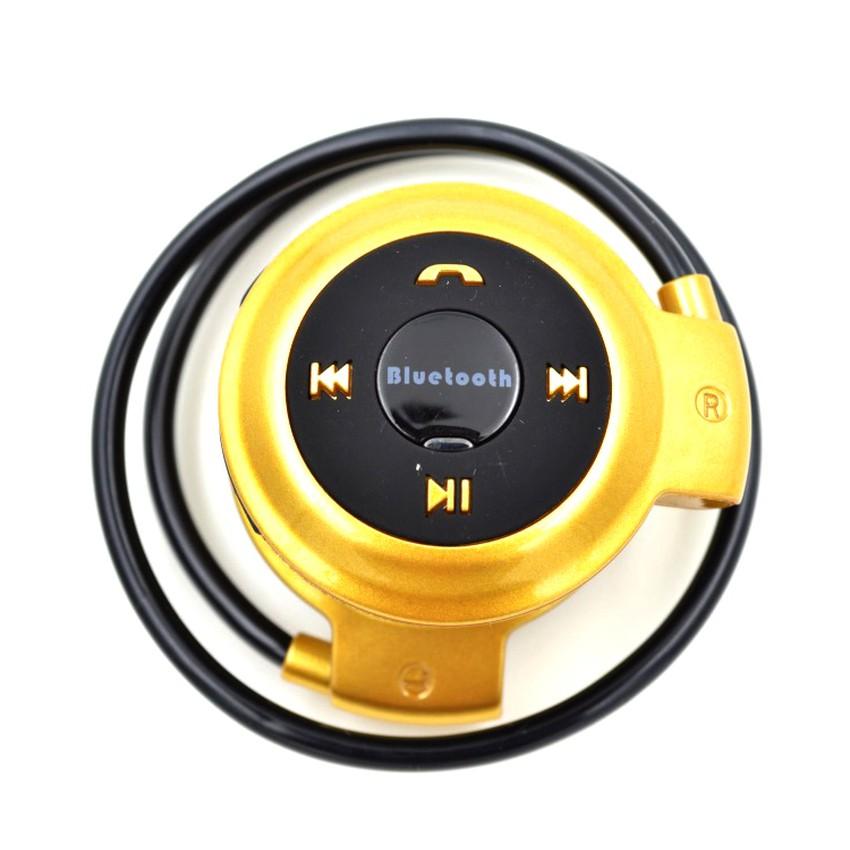 Tai nghe Bluetooth TF Mini - 503 (Vàng)