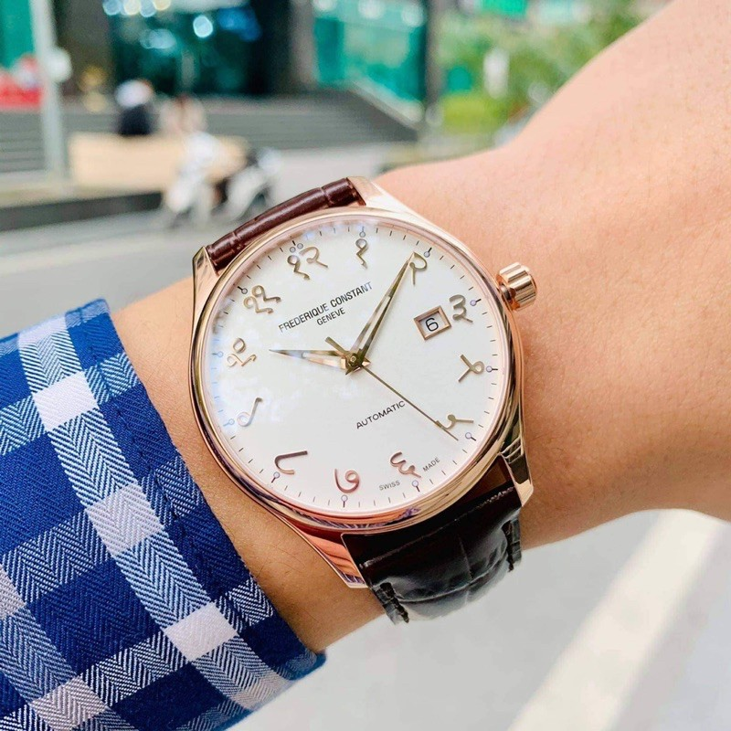 Đồng hồ nam Fre.derique Constant Classic Index FC
