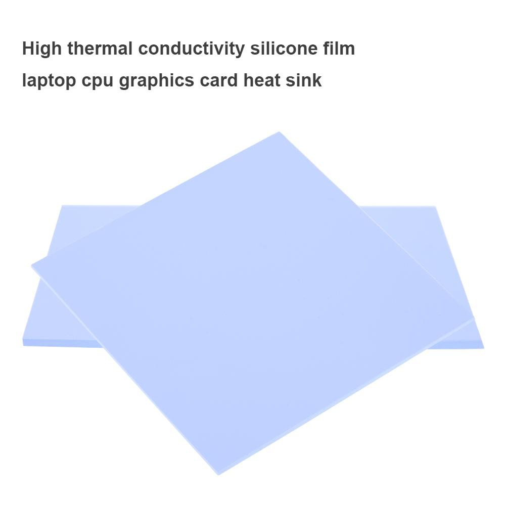 100x100mm Silicone Thermal Pad Sheet Computer CPU Graphics Chip Heat Sink easygoingbuy.vn♪♫♬♩♪☆ Giá chỉ 16.000₫
