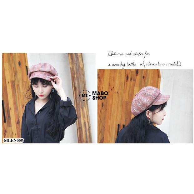 (Mẫu mới 2019) Mũ nồi beret thời trang retro cho nữ MLEN005
