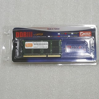 Ram máy tính lap top DDR3 8GB 1600 Dato - Hàng Chính Hãng thumbnail