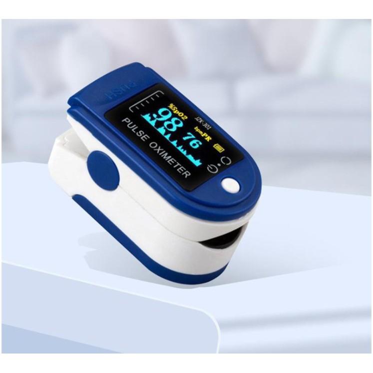 Máy đo nồng độ oxy trong máu Pulse Oximeter - Máy Đo Độ Bão Hòa Oxy Trong Máu Kẹp Ngón Tay Nhanh Chóng, Chính Xác