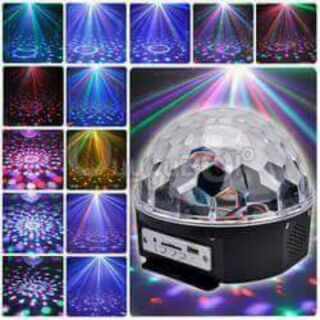 Loa đèn vũ trường WS-635BT Có Đèn Led Nhiều Màu