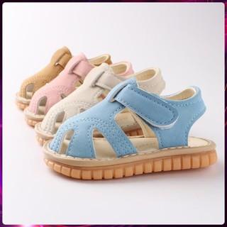 [Hàng Sịn 100%] Dép Tập Đi, Giày Tập Đi Cho Bé Đế Mềm Chống Trượt Phát Tiếng Kêu cho bé 0 đến 4 tuổi