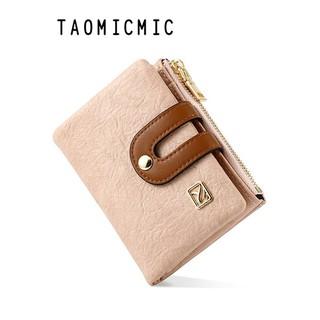 Hình ảnh Ví nữ đựng tiền ngắn cao cấp TAOMICMIC nhiều ngăn nhỏ gọn bỏ túi VD380-0